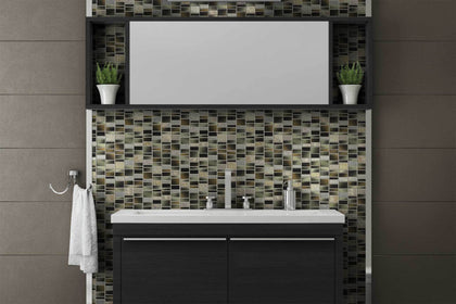 Mosaic Tile Outlet - Charcoal Collection