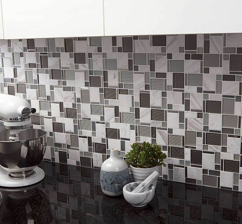Metal Mosaic Tile Outlet Collection
