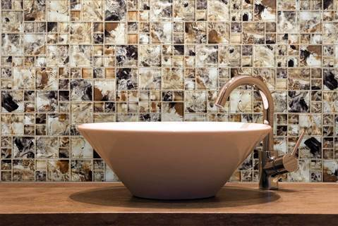 Translucent Mosaic Tile Outlet Collection