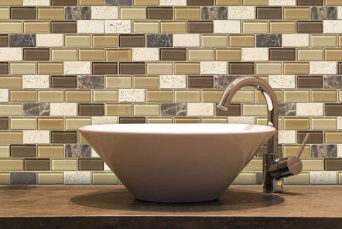 travertine-glass-bathroom-sink-backsplash