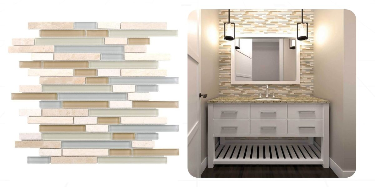 Beautify your space using linear-patterned natural stone tiles