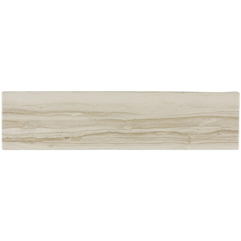 MTO0023 Modern 3X12 Subway Beige Wood Look Glazed Ceramic Mosaic Tile - Mosaic Tile Outlet