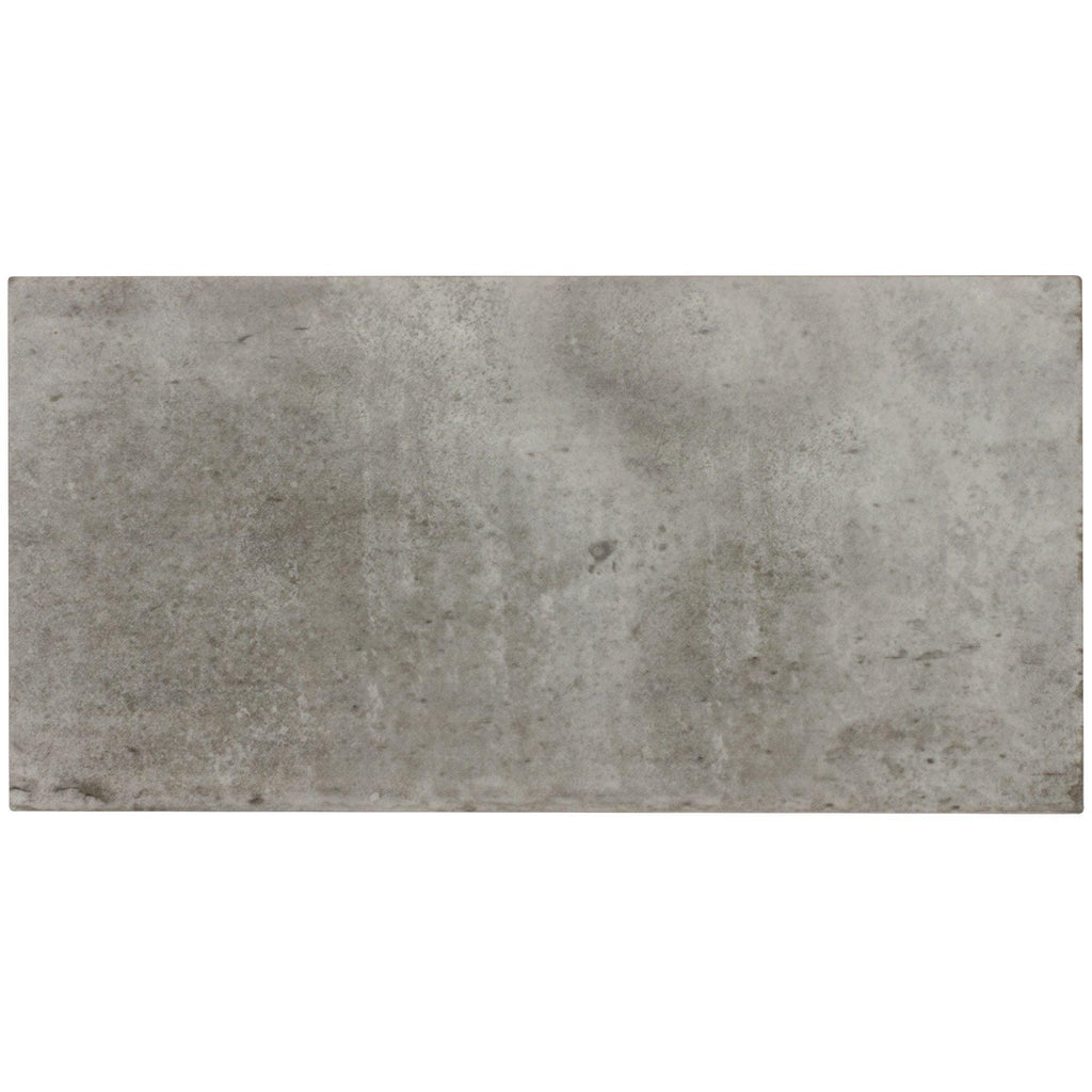 Mto0024 Classic Large Brick Gray Glazed Ceramic Tile