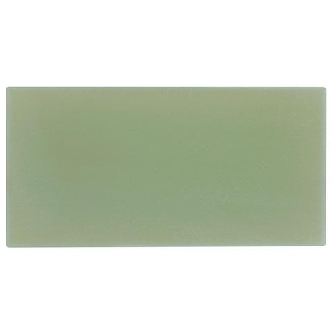 MTO0416 Modern Large Brick Subway Green Matte Glass Tile