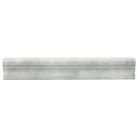 MTO0581 Modern 2X12 Gray Chair Rail Molding Ceramic Tile - Mosaic Tile Outlet