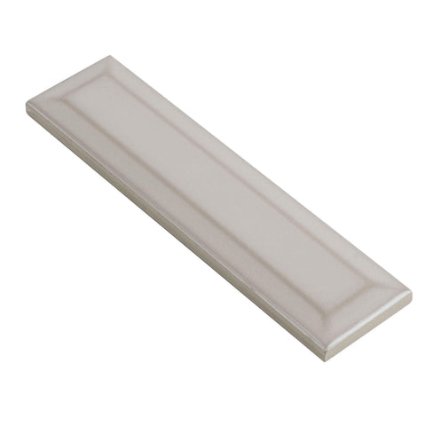 MTO0584 Modern 2X8 Beveled Subway Beige Distressed Glossy Ceramic Tile - Mosaic Tile Outlet