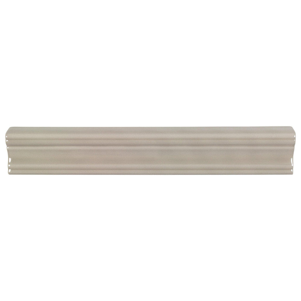 Mto0608 Modern 2x12 Chair Rail Molding Beige Taupe Glossy