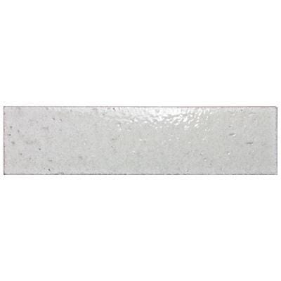 MTOW0002 Modern Subway Brick Silver 2.5 X 9.5 Glazed Ceramic Tile
