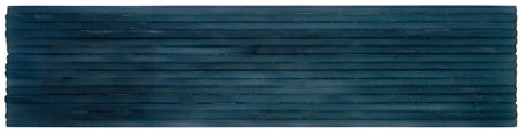Front Modern Wave Dark Blue Frosted Glass Tile