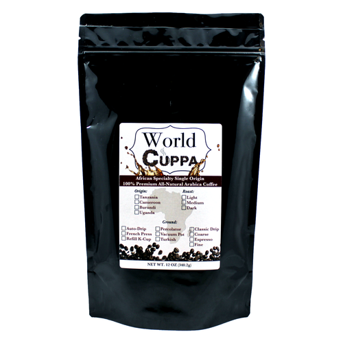 Tanzania Specialty Coffee - World Cuppa