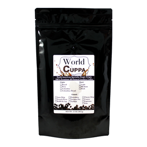 Colombia Specialty Coffee (DECAF) - World Cuppa