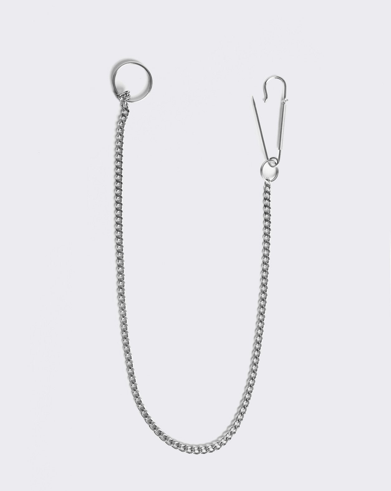 Adolescents Silver Wallet Chain