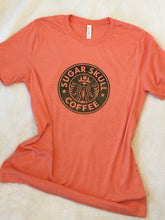 Load image into Gallery viewer, Sugar Skull Coffee Tee