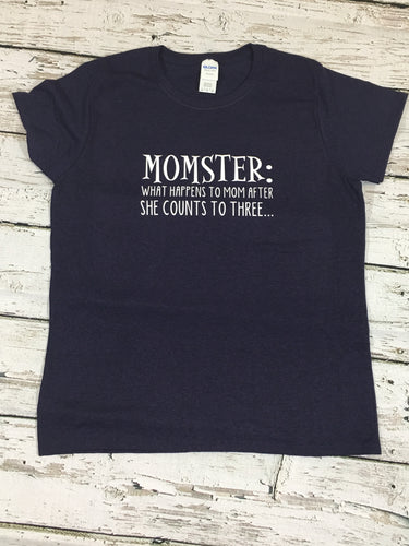 """Momster"" Tee"