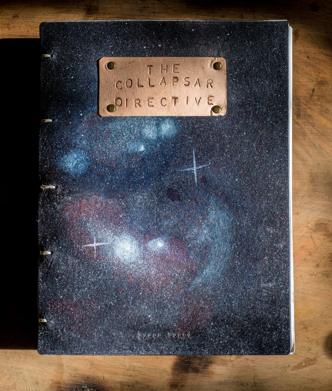 THE COLLAPSAR DIRECTIVE Leather Bound Edition