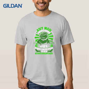 Make Your T-Shirt Bearded Dragon Daddy Father Shirt Mens 2018 Cool Mens Tees