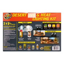 Load image into Gallery viewer, Zoo Med Desert UVB & Heat Lighting Kit
