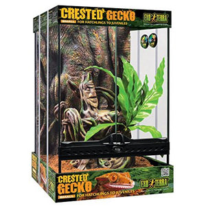 Exo Terra Small 11-Gallon Crested Gecko Habitat Kit