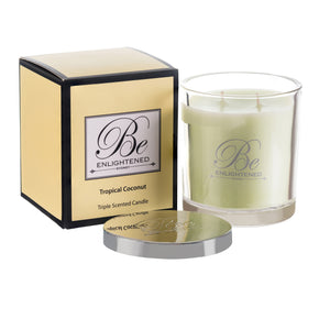 BE ENLIGHTENED CANDLE TROPICAL COCONUT
