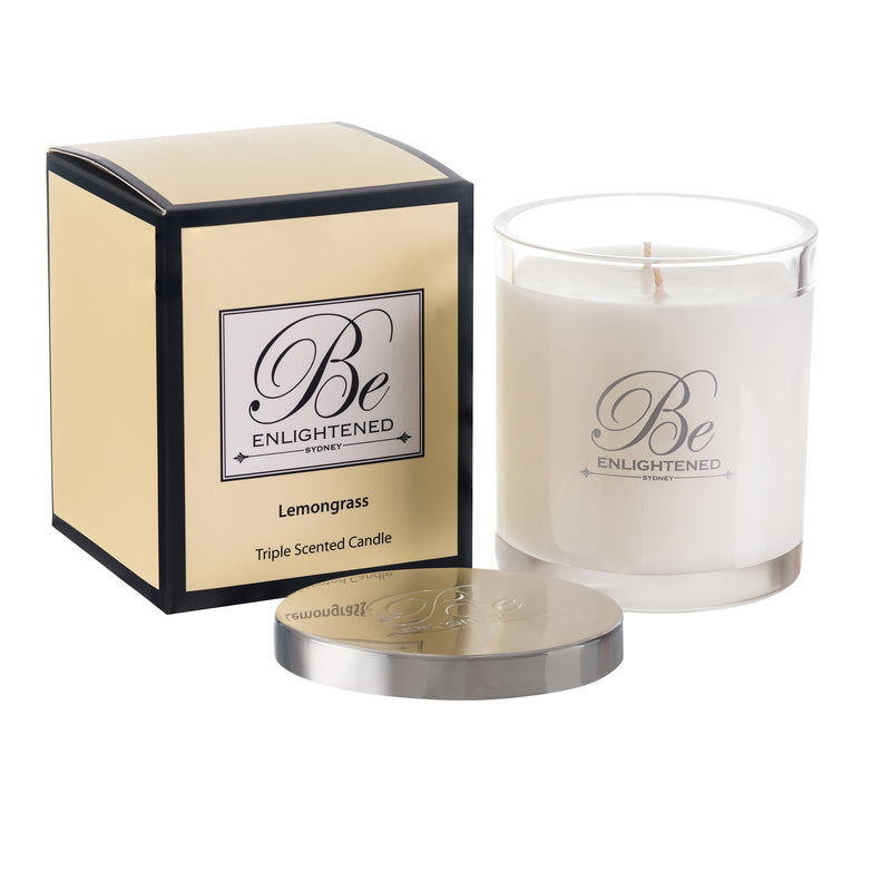 BE ENLIGHTENED CANDLE LEMONGRASS