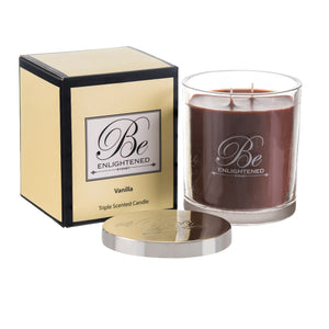BE ENLIGHTENED CANDLE VANILLA