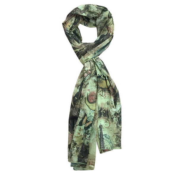 DREAM GREEN SCARF