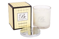 BE ENLIGHTENED CANDLE PASSIONFRUIT & LIME