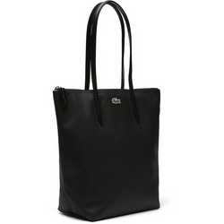 LACOSTE BLACK VERTICAL TOTE