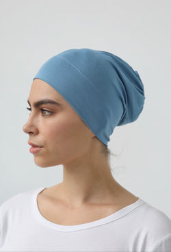 DENIM BAMBOO CAP
