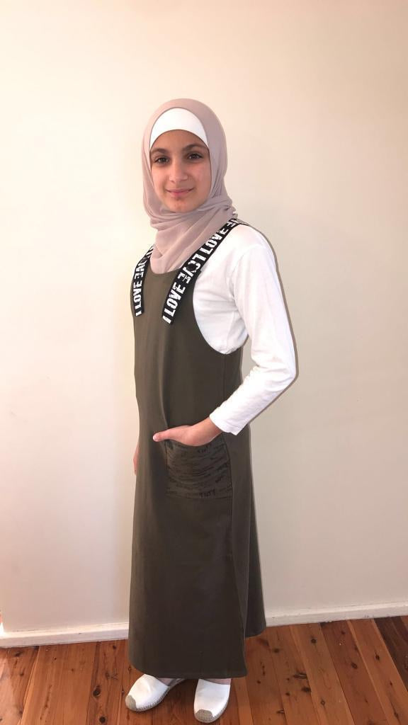 GIRLS PINAFORE