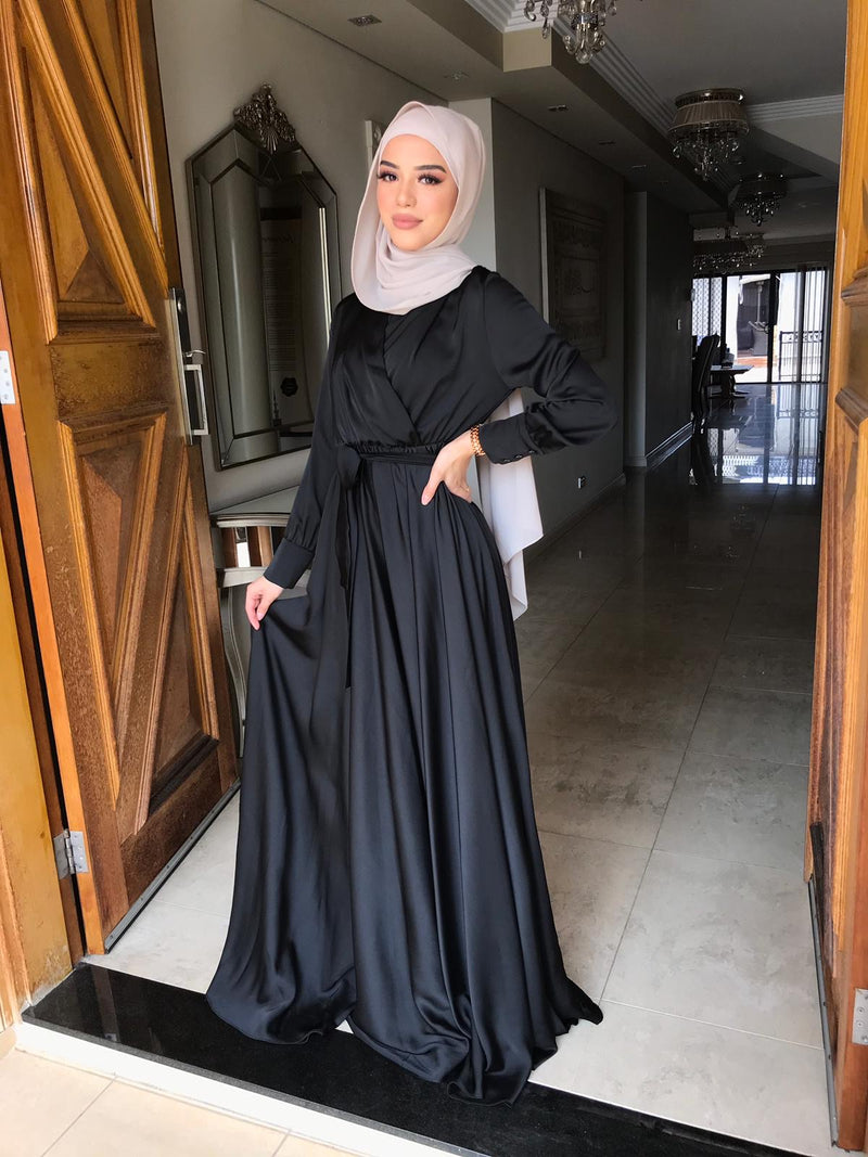 SIRMA SATEN DRESS
