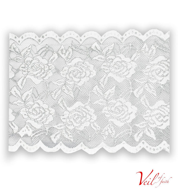 WHITE LACE BAND