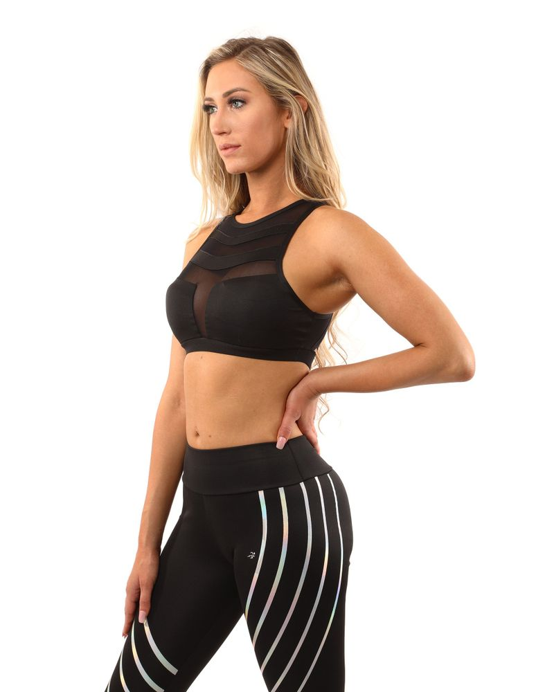 Black leggings & sports bra