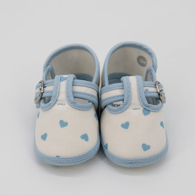 Be Mine Baby Shoes - Blue
