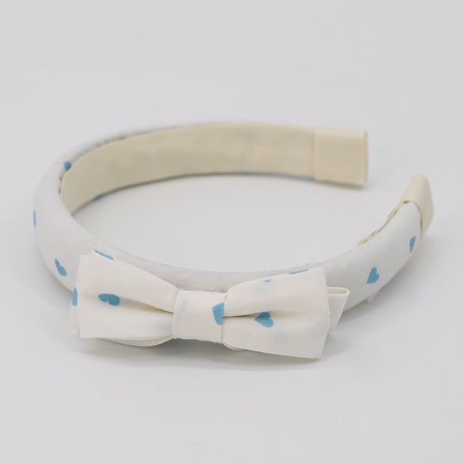 Be Mine Bow Headband - Blue