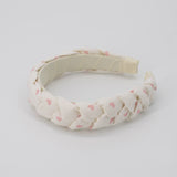 Be Mine Braided Headband - Pink