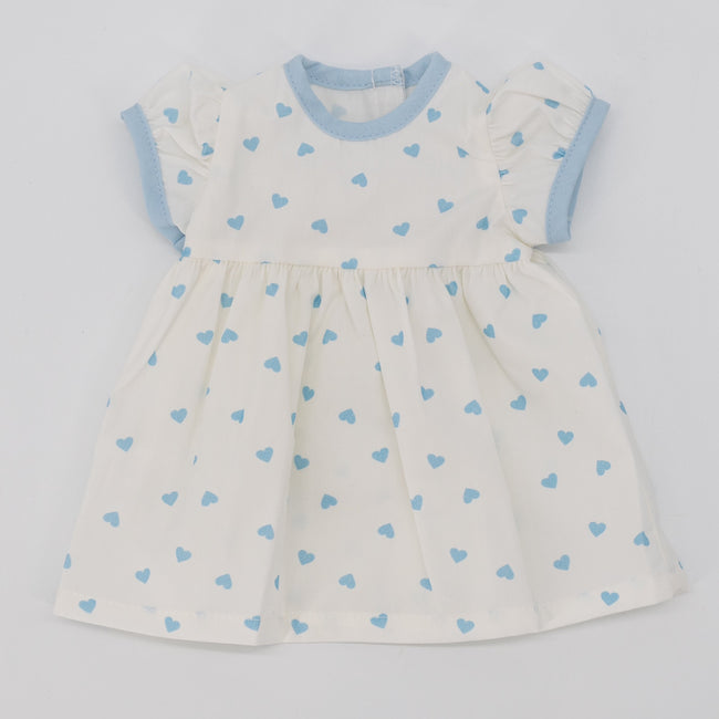Be Mine Doll Dress - Blue