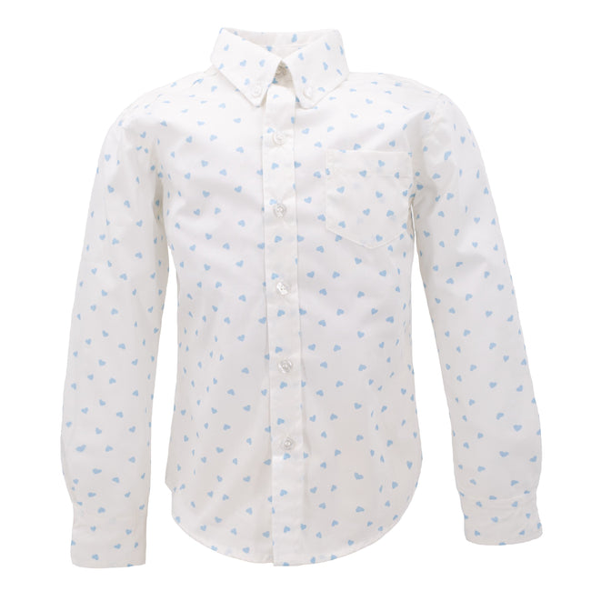 Be Mine Boy Button Down