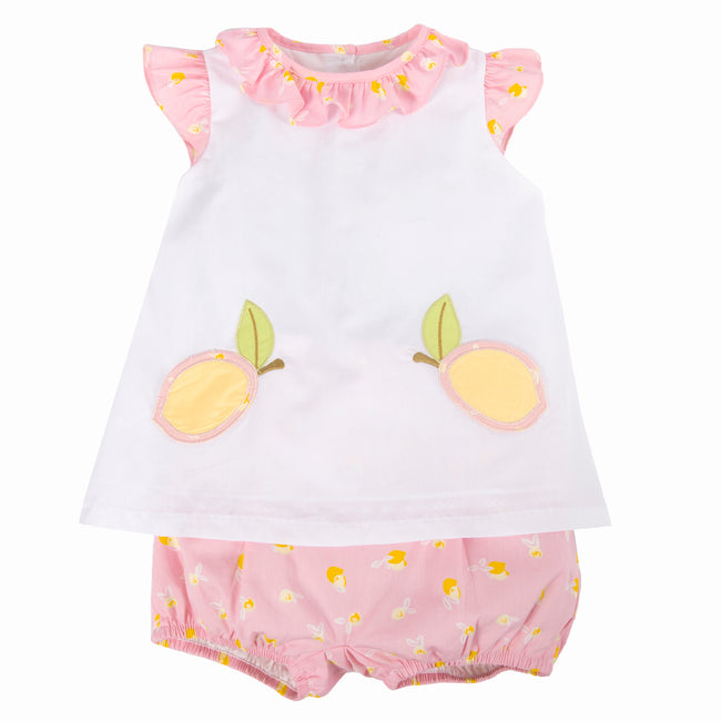 Pink Lemonade Bloomer Set