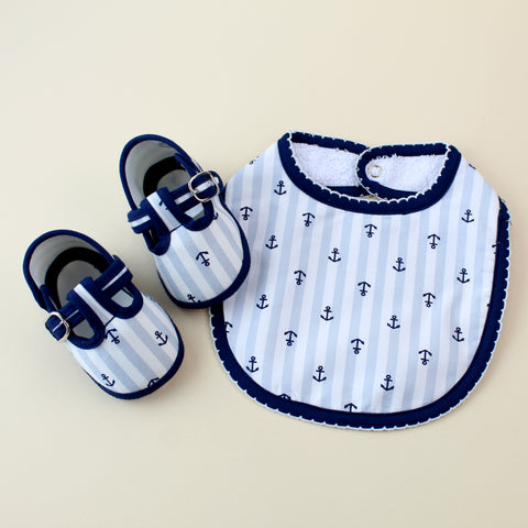 Anchor Boy Bib