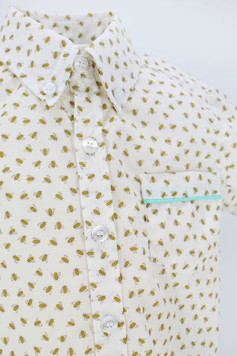 Bee Button Down