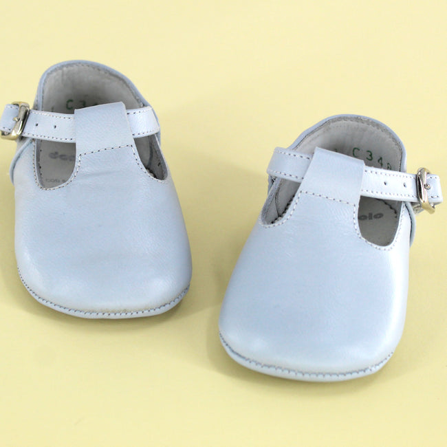 Classic Baby Shoe Light Blue
