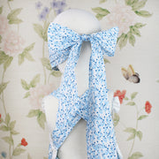 Child Bow Mask - Blue Bonnet