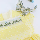 Buttercup Dress + Headband Bundle
