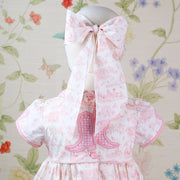 Dallas Pink - Child Bow Mask
