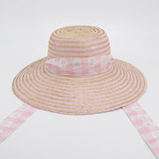 Women's Daisy Love Hat Sash - Pink