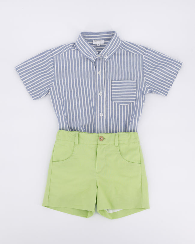 Baker Button Down and Short Set