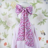 Adult Bow Mask - Pink Floral