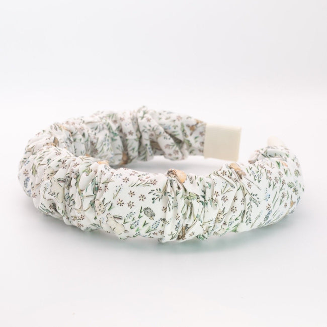 Forest Girl Ruched Headband