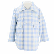 Ellis Jacket - Blue Gingham
